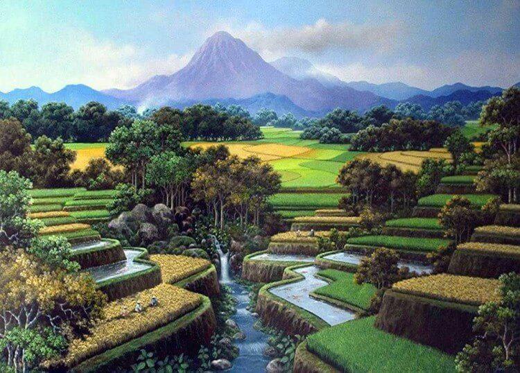 pengertian, macam-macam dan contoh aliran-aliran dalam seni lukis