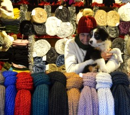 Lucky brings luck to this little colourful store