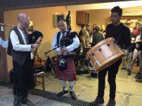 Teve até música celta no Beer Holic!