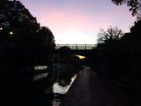 E o pôr do sol mais lindo (e cada vez mais cedo...)!