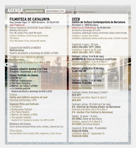 pagina interior agenda raval map