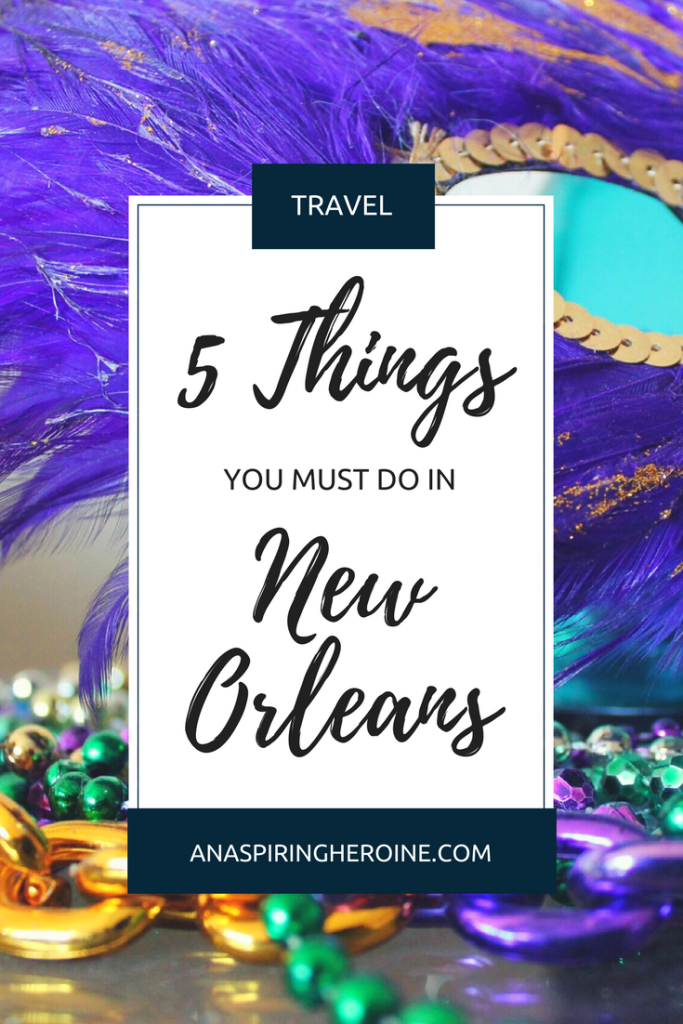 New Orleans is known for many things, but I think all of the food and drink experiences are where it's at! Here are my top five eats in the Big Easy | An Aspiring Heroine