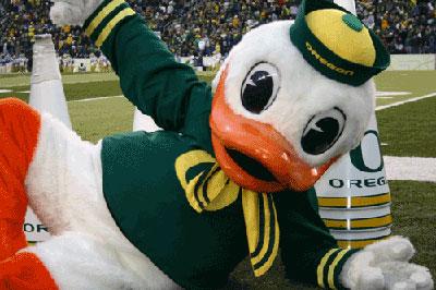 University of Oregon - The Duck