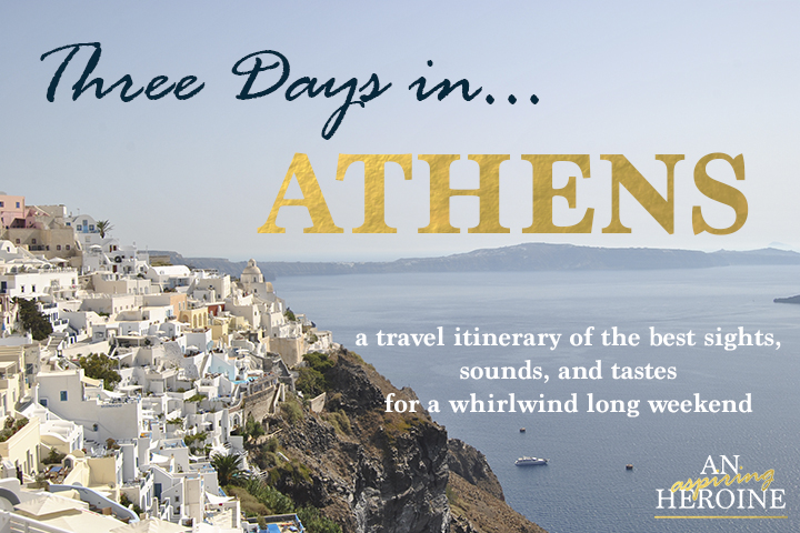 athens travel itinerary