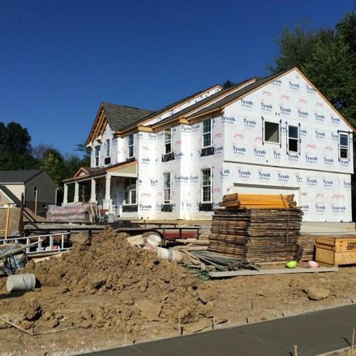 Drees Homes Update: Early August // www.anaspiringheroine.com