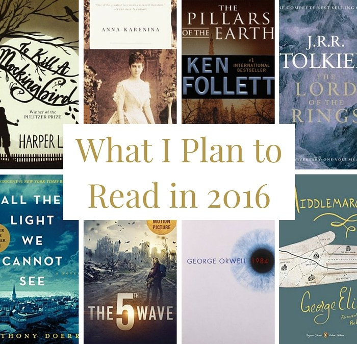 What I Plan to Read in 2016