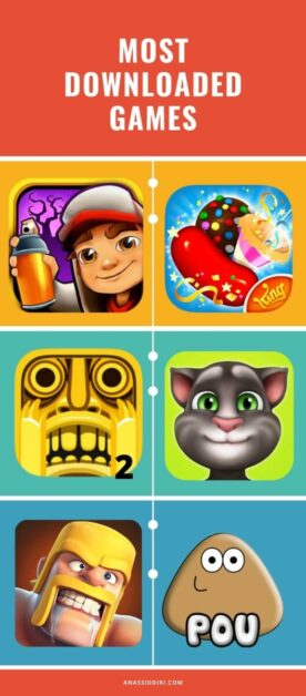 Most Downloaded Games