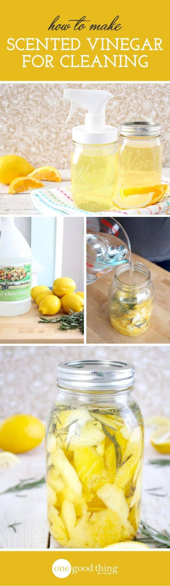 DIY Cleaning Vinegar - Cleaning Tips