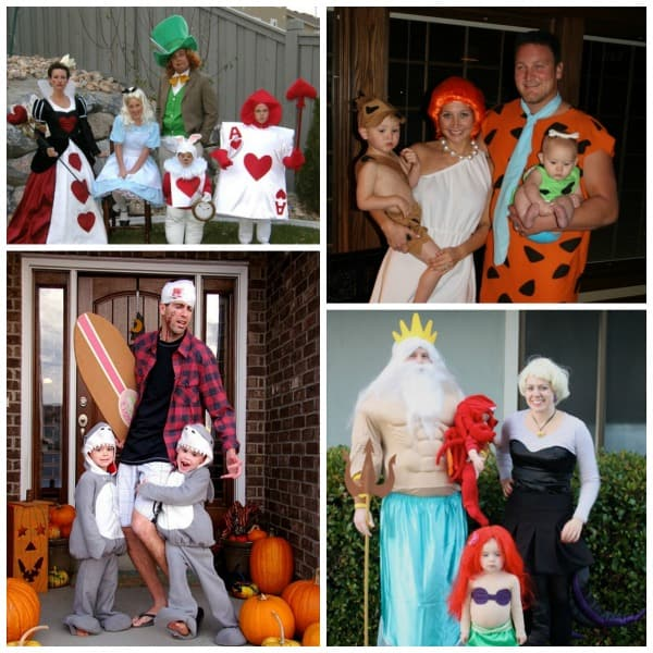 DIY Family Halloween Costumes – try them in 2017! Family Halloween costumes, DIY ideas for couples, women, kids. Explore these DIY costumes and Halloween Ideas for 2017!