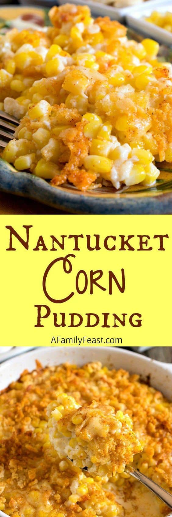 Corn Pudding. 25 Best Thanksgiving recipes for dinner party! Are you hosting Thanksgiving this year? Get your cooking inspiration in Thanksgiving food, side dishes, find some stuffing recipes for Thanksgiving.
