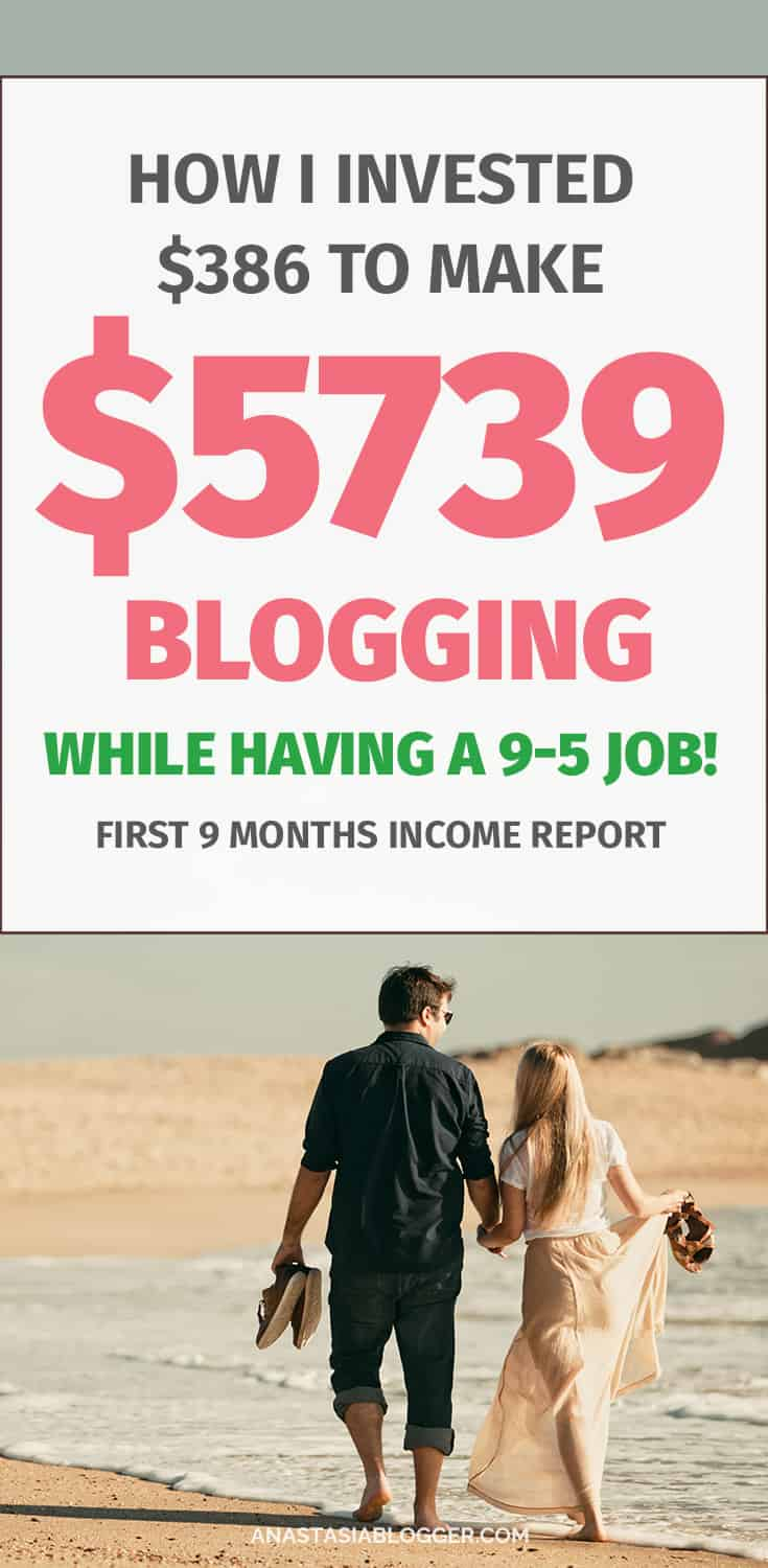 How to make money blogging and can a blog help you leave your day job? How much money can you make from a blog working on it in your free time only? I found my answers to all these blogging beginner questions and I quit my 9-5 job after 9 months blogging. Find out how!