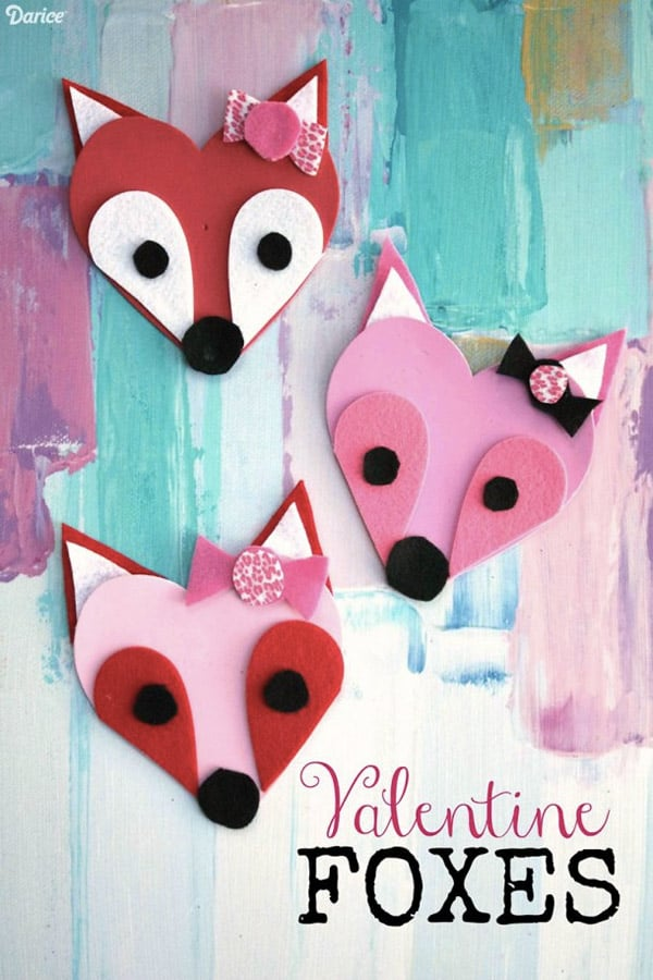 Easy Valentine Crafts Part - 22: Check This Collection Of Adorable Valentines Day Crafts For Kids And DIY  Them With Your Children