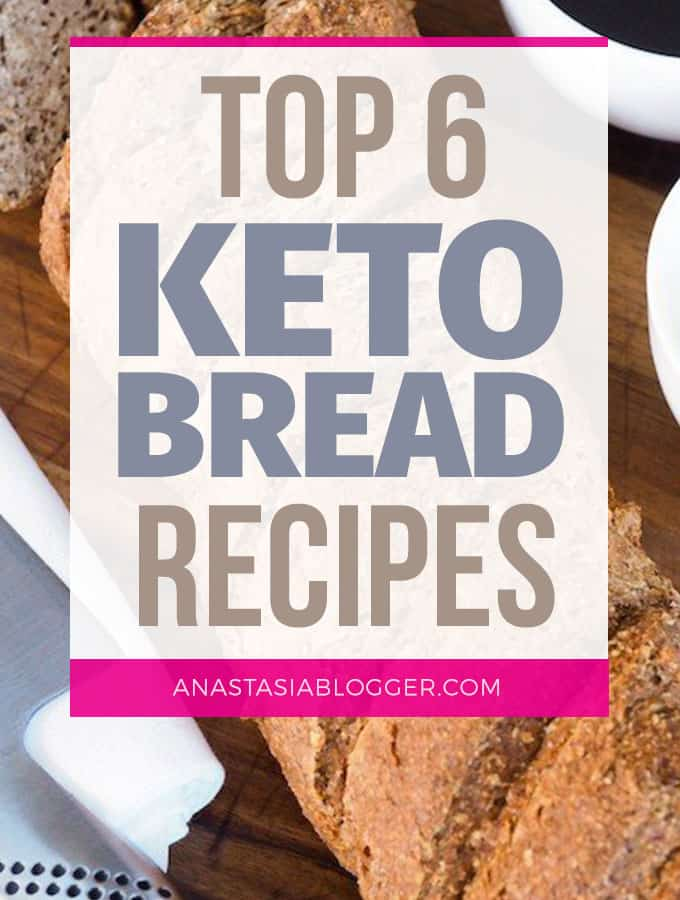 Save these best Keto bread recipes to keep your Ketosis and eat products you are used to. These Easy Low Carb bread recipes are ideal for Ketogenic diet and will help you stay in Ketosis without restricting your favorite food.