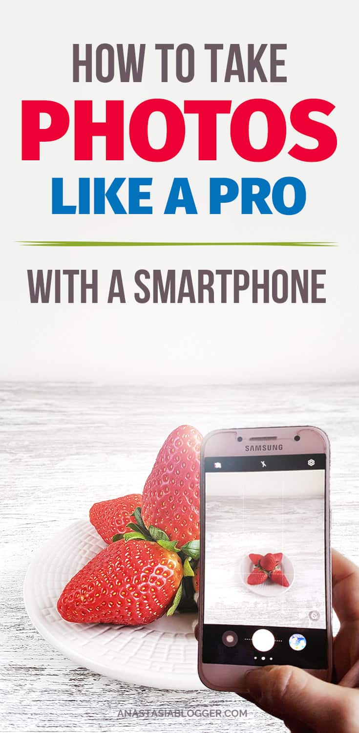 Trying to find out how to take food pictures like a pro with a smartphone? This is the right place to be for you because I will give you very simple instructions for beginners - you will know how to DIY your lightning for free, and edit photos on your smartphone to make them look amazing - also for free! #blogging #blogger