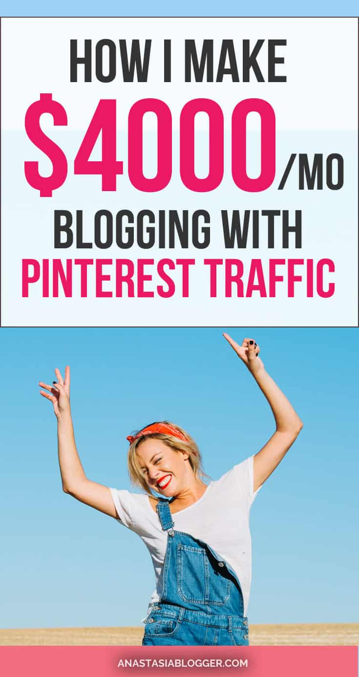 Blog. I learned how to make money on Pinterest driving tons of free traffic to my blogs. I make $4000 a month and my new blog reached over $850 in the fourth-month blogging! My favorite way to make money online is blogging on Pinterest.