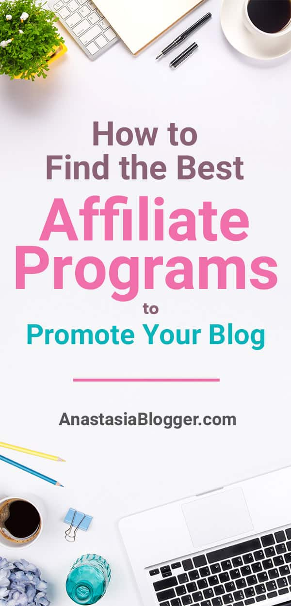 Learn how to find the best affiliate marketing programs to promote on your blog to make a substantial online income every month from your blog