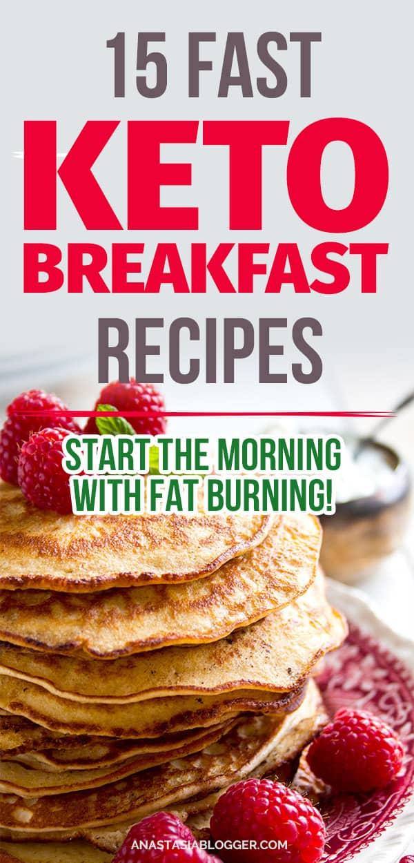 Keto recipes. 15 Easy Keto Breakfast to start burning fat. Keto Breakfast on the go, Keto breakfast make ahead recipes. Eggs cooked in creative ways are the basis of your breakfast on a Ketogenic diet. But it's not eggs only! You can have a no eggs Keto breakfast with muffins. #keto #ketogenic #ketodiet #breakfast #ketorecipes #recipe #food