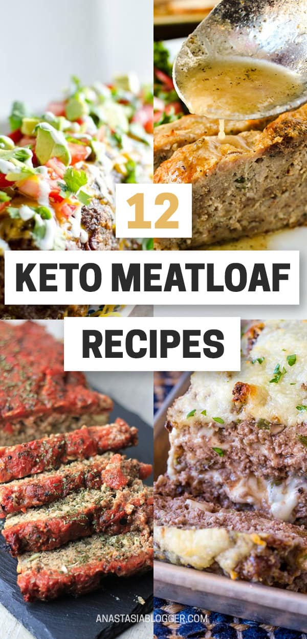 12 Best Keto Meatloaf Recipes - Amazing Comfort Food for Winters on Keto Diet. When the weather gets colder, comforting food works great for Ketogenic diet, this collection of the best Keto meatloaf recipes is so amazing! Try them and leave your photos in the comments! #keto #ketogenic #ketorecipes #ketodiet #lowcarb #meatloaf #diet #food #recipes