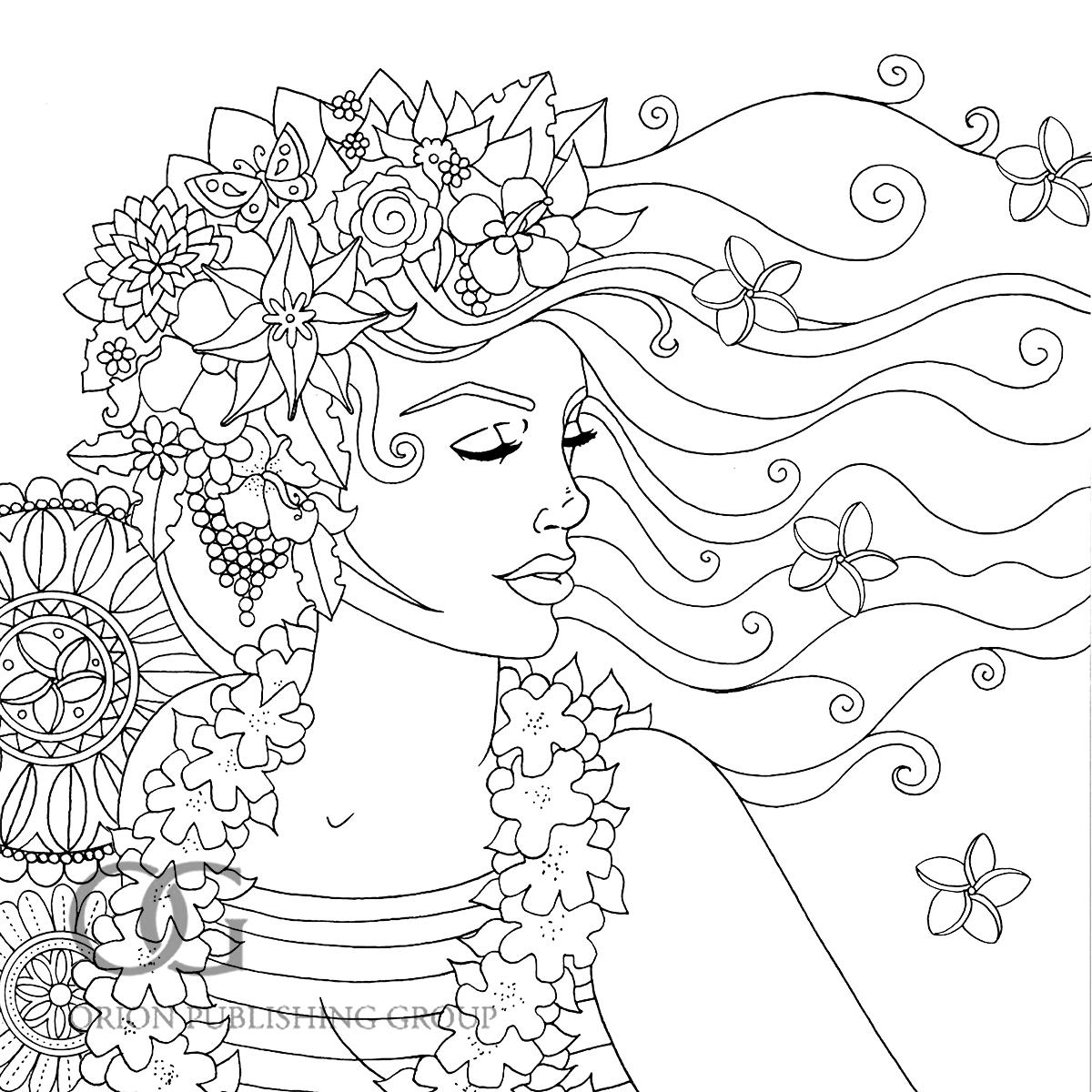 Anastasia Catris Colour Me Mindful Tropical Previews