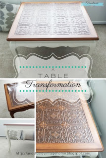 A Table Transformation | Anastasia Vintage