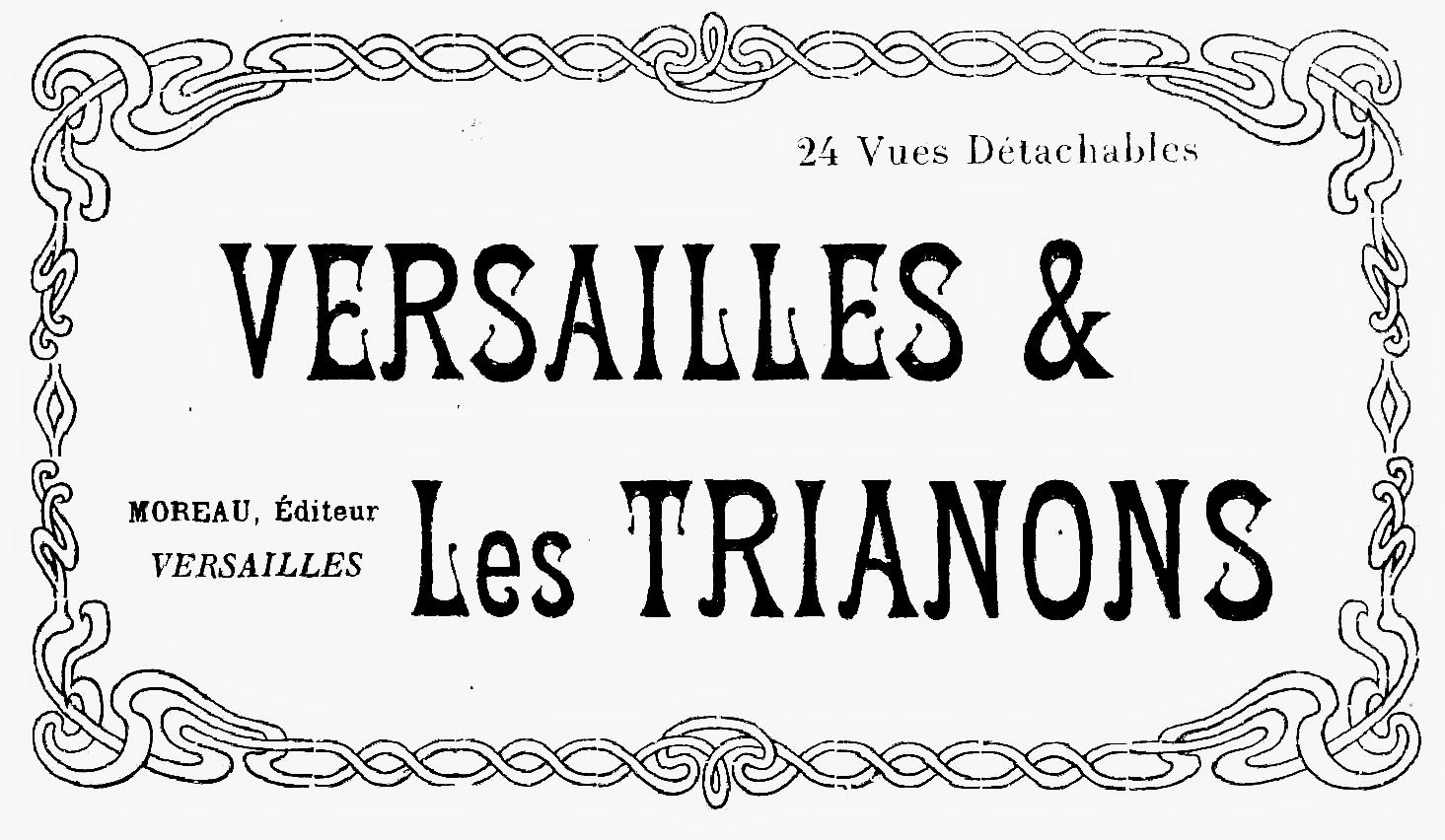 French typography printable