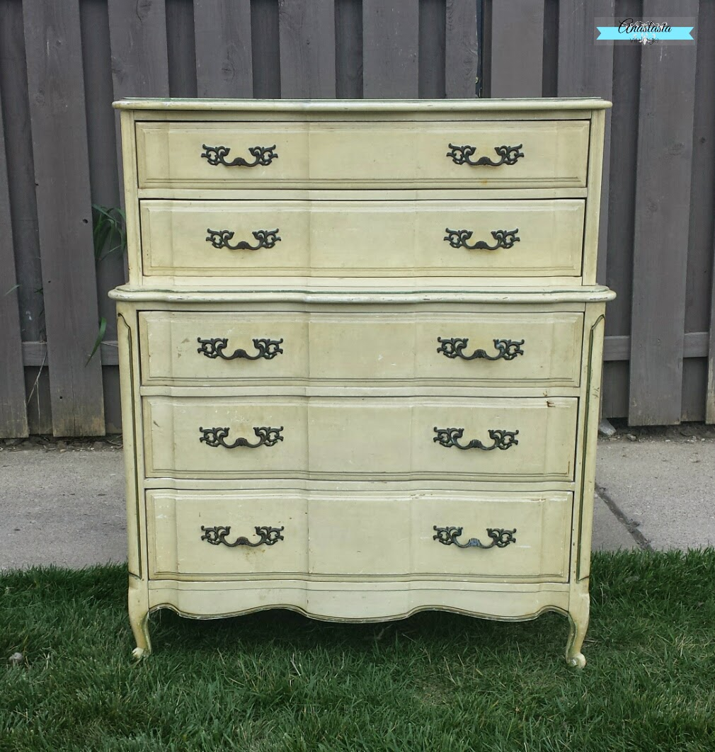 french provincial dresser before