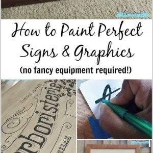 How to Paint Perfect Signs & Graphics
