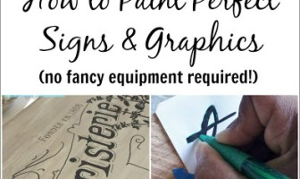 How to Paint Perfect Signs and Graphics