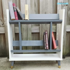 Shades of Gray, Part 2: The Retro Modern Bookcase