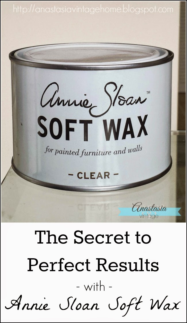 annie sloan chalk paint soft wax secret pertect results