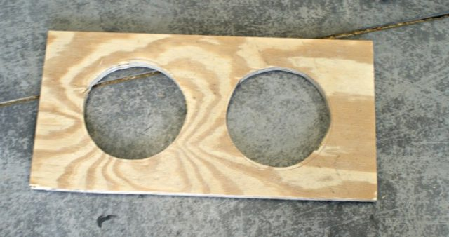 circle cuts plywood