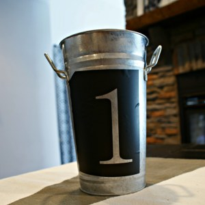 Aging Galvanized Metal Buckets