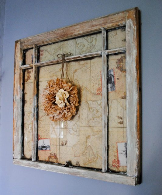 Vintage Window Makeover