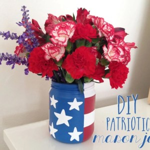DIY: Patriotic Mason Jar Project