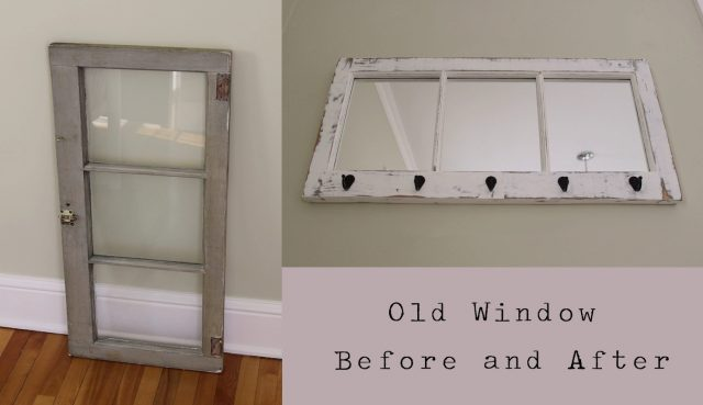 Old Window Project Before and After