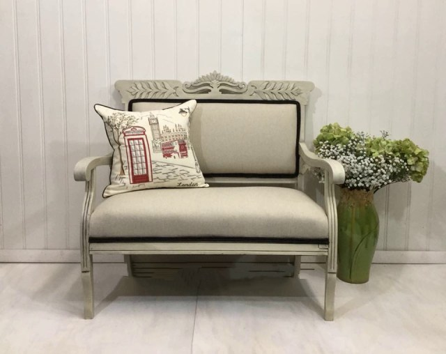 Antique Settee After