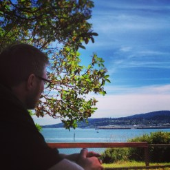 Looking out over Anacortes