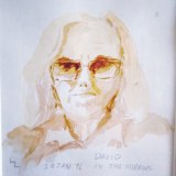 David White, self-portrait