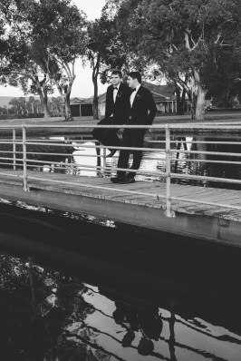 Bridal Party on bridge (13)