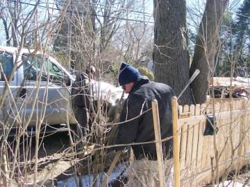 Fence Repair in Westport