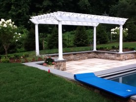 Pergola design in Fairfield