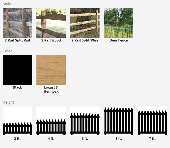Wildlife Fence Options