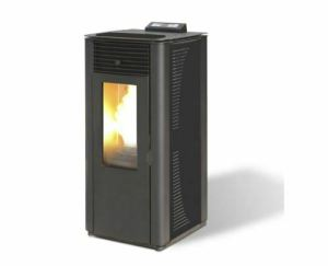 estufa de pellet maxlor-idro-15-negra