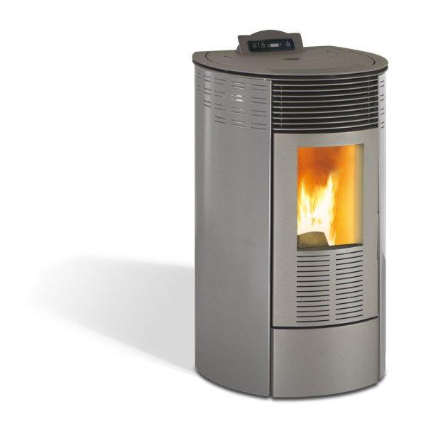 estufa de pellet maxlor_redonda_burn_10_gris