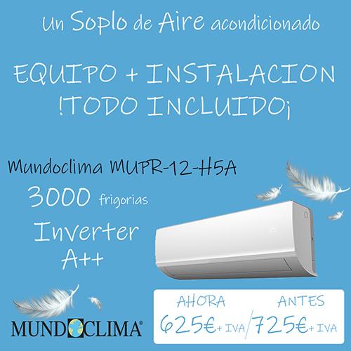 Oferta Aire Acondicionado en Anastasio Teruel