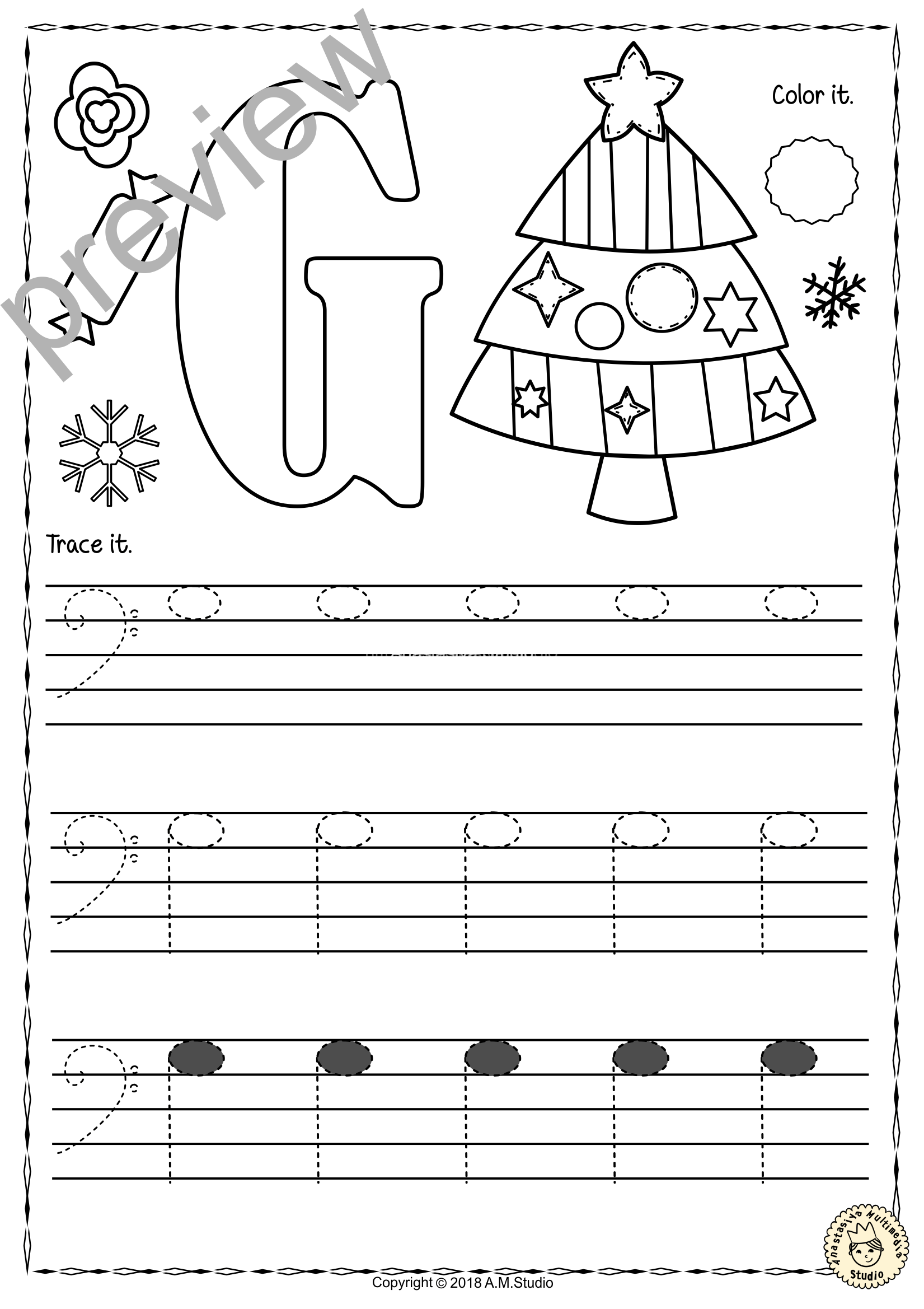 Bass Clef Tracing Music Notes Worksheets For Winter And