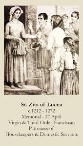 ST ZITA OF LUCCA