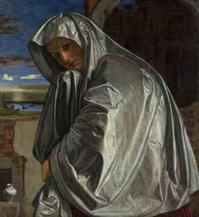 Gian Girolamo Savoldo,Mary Magdalene Approaching the Tomb