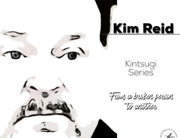 Kim Reid portrait. Kintsugi Series