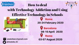 How to deal with Technology Addiction and Using Effective Technology in Schools